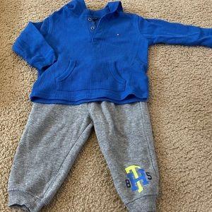 comfy Tommy hilfiger toddler boy outfit